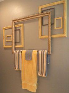 fabriquer porte serviette cadre bricolage