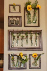fleurs cadre bricolage
