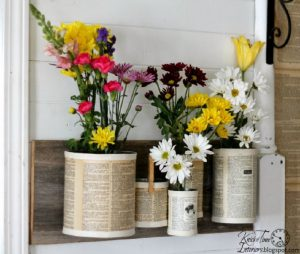 idee deco cuisine fleurs