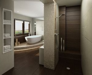 idee deco interieur douche italienne