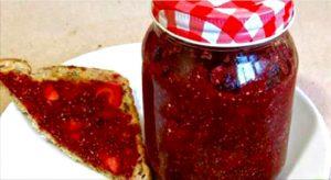 recette confiture fraise chia
