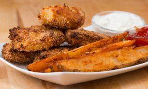 recette filet poisson frite