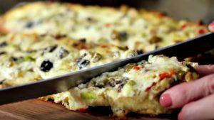 recette pain olive pizza
