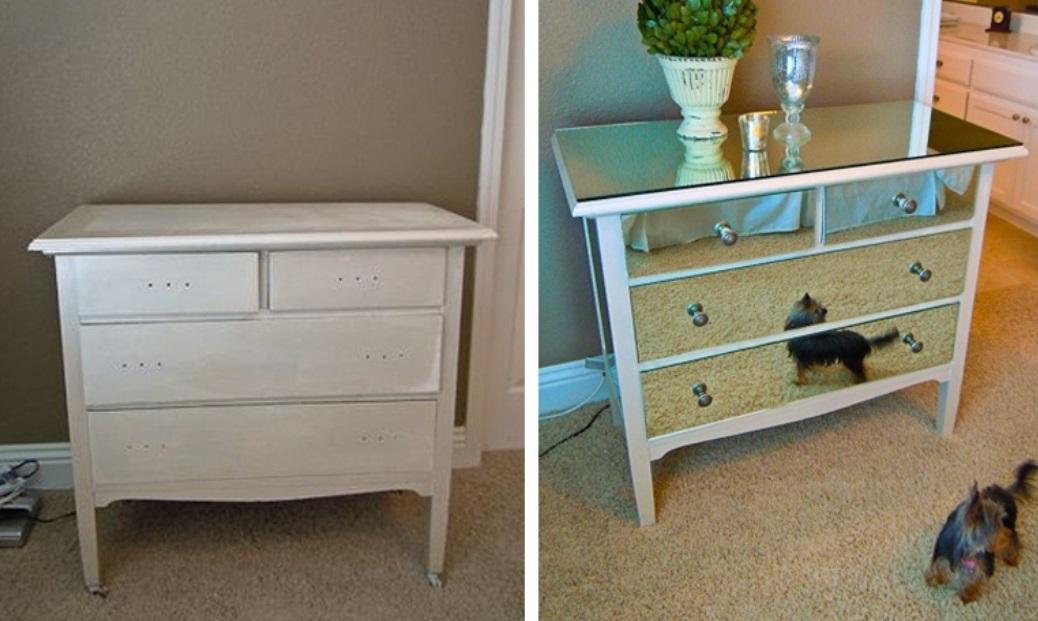 14 id es g niales pour transformer vos vieux meubles en une d co tr s origina - Transformer une armoire en bureau ...