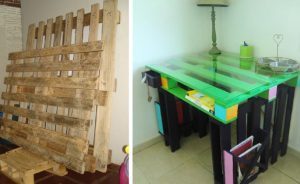 renover meuble palette