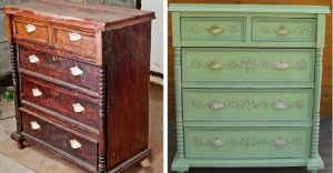 renover veille commode