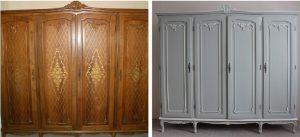 renover vieille armoire