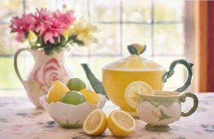 tisane citron curcuma matin