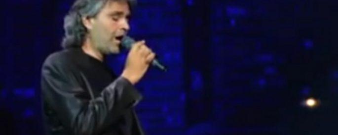Andrea Bocelli Elvis Presley chanson
