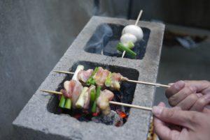 astuce bloc beton barbecue grill