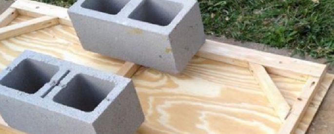 astuce bloc beton jardin