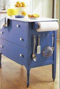 bricolage armoire cuisine ilot