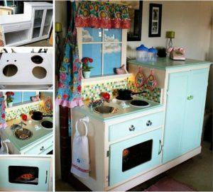 bricolage etagere cuisine pour enfant