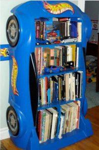 bricolage etagere voiture pour enfant