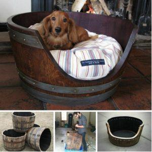 bricolage lit chien maison