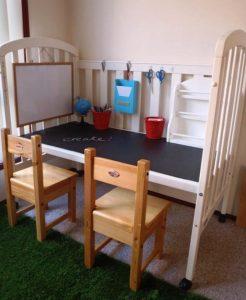 bricolage lit pour enfant bureau