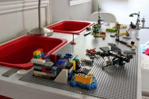 bricolage table lego ikea