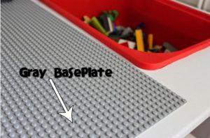 bricolage table plaque lego ikea