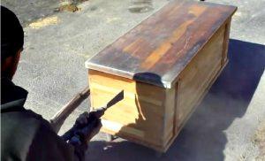 decapant naturel vieux meuble bois