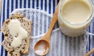 recette creme au miel naturelle