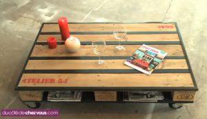 fabriquer table basse