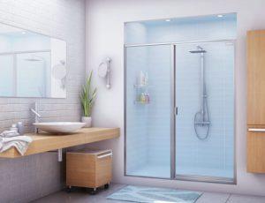 porte de douche sale