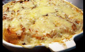 recette gratin oignon fromage