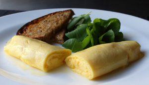 recette omelette tendre souple