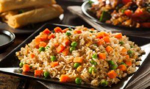 recette riz frit maison jambon oeufs
