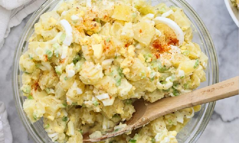 voici la meilleure recette de salade de pommes de terre. Black Bedroom Furniture Sets. Home Design Ideas