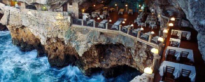 restaurant grotte italie