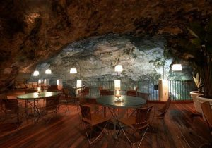 restaurant grotte italien reception