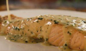 saumon sauce cremeuse