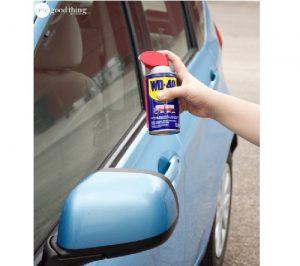vitre auto propre