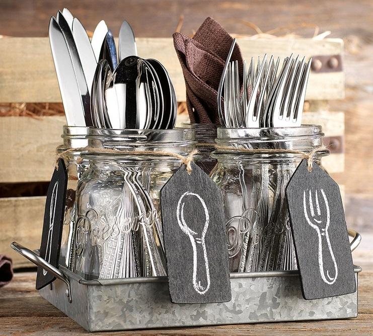 12 id es g niales de rangements pour gagner de l 39 espace dans votre cuisine. Black Bedroom Furniture Sets. Home Design Ideas