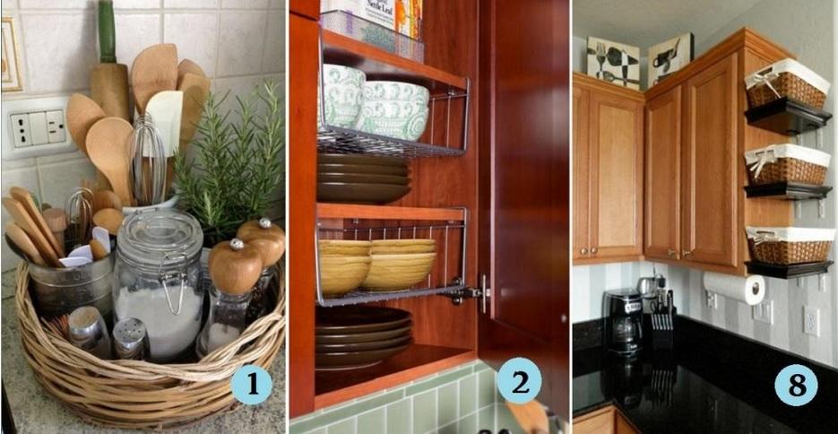 Astuce de rangement cuisine d coration de maison for Astuces de rangement maison