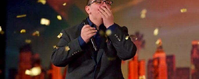 concours chant candidat nerveux got talent