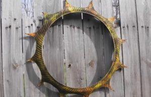 idee jardiniere jardin vieux pneus 8
