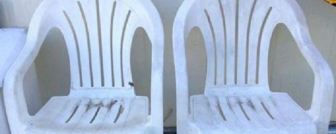 modifier chaises jardin plastique astuce