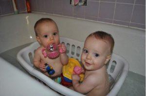 astuce bebe bain