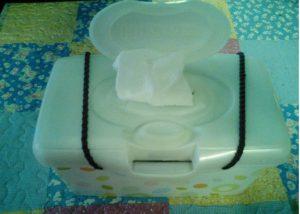 astuce boite de lingettes pour bebes