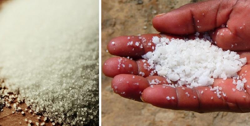Elle saupoudre du sel sur le rebord de ses fen tres et for Autour de sa maison