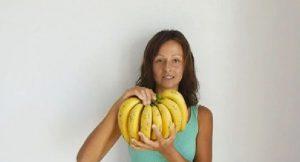 femme mange bananes 3 jours