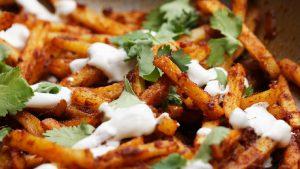 frites masala recette