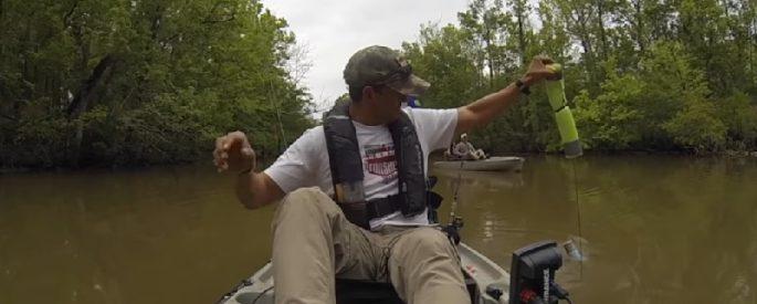 homme peche poisson peur