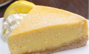 recette gateau citron