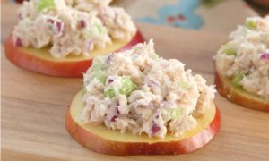 recette pomme salade thon