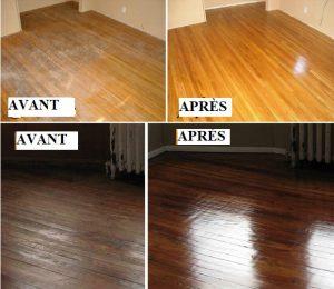 AVANT APRES plancher propre astuce nettoyage