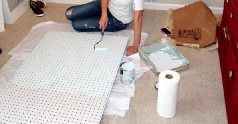 Un expert en organisation utilise des panneaux trou s pour - Astuces pour ranger sa maison ...