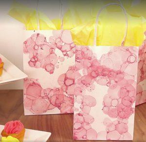 bricolage peindre sac